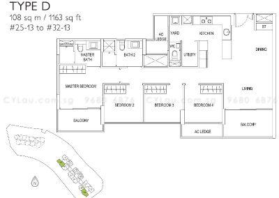 j gateway 4-bedroom