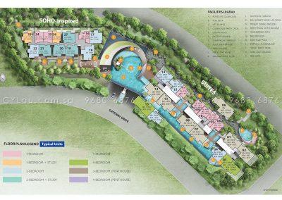 j gateway site plan