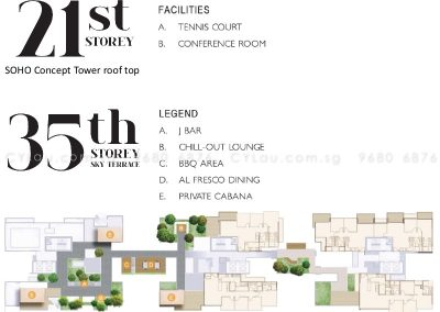 j gateway site plan level 35