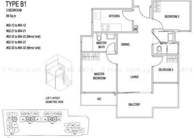jade residences 3-bedroom