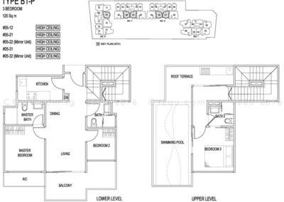 jade residences 3-bedroom penthouse