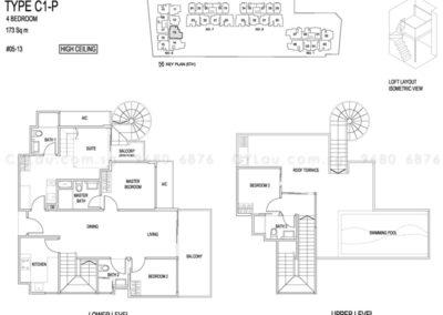 jade residences 4-bedroom penthouse
