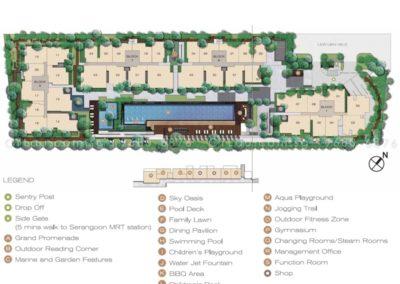jade residences site plan