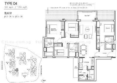jewel buangkok 4-bedroom dual-key