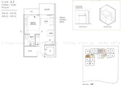 midtown residences 1-study