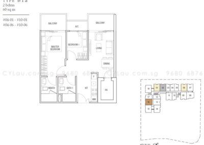 midtown residences 2-bedroom