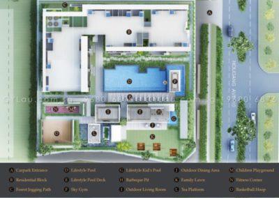 midtown residences site plan