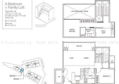 mon jervois 2-bedroom family loft