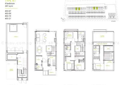 newest triplex 4-bedroom a1