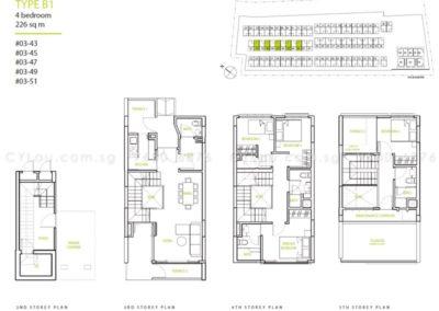 newest triplex 4-bedroom b1