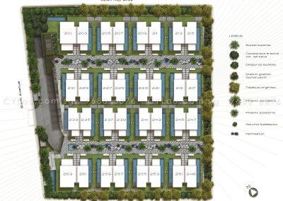 palms sixth avenue site plan