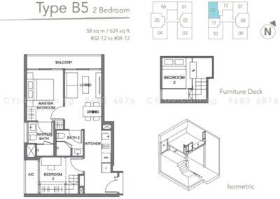 the orient 2 bedroom 02-12