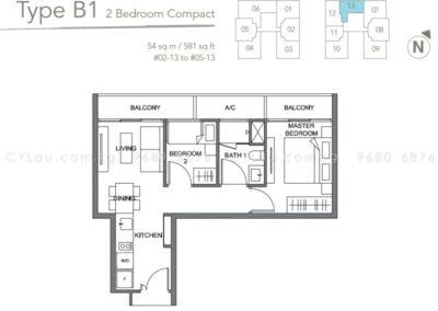 the orient 2 bedroom 02-13
