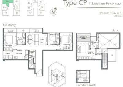 the orient 4 bedroom ph 05-06