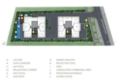 the orient site plan