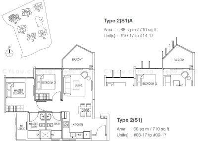 the skywoods 2-bedroom