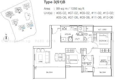 the skywoods 3-bedroom