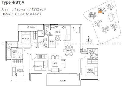 the skywoods 4-bedroom