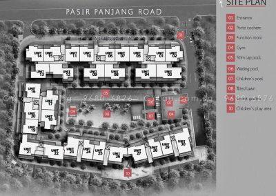 village pasir panjang site plan