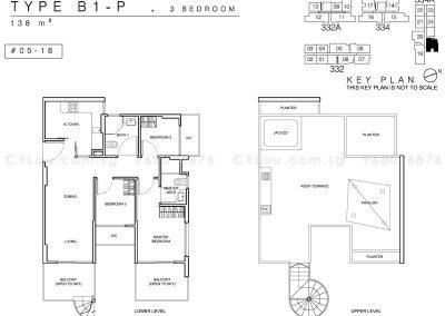whitehaven 3-bedroom penthouse