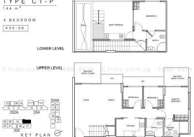 whitehaven 4-bedroom penthouse