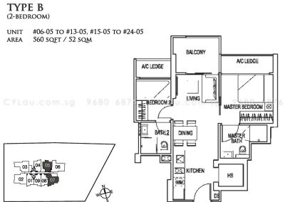 26 newton 2-bedroom