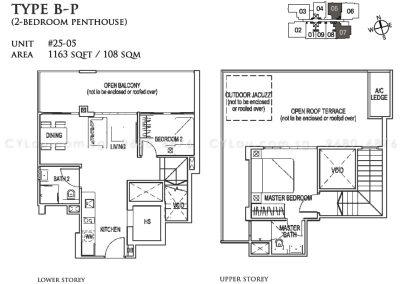 26 newton 2-bedroom penthouse