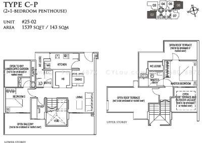 26 newton 2 study penthouse