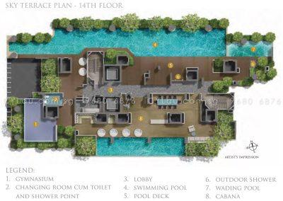 26 newton site plan level 14
