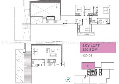 6 derbyshire 4-bedroom ph 29-01