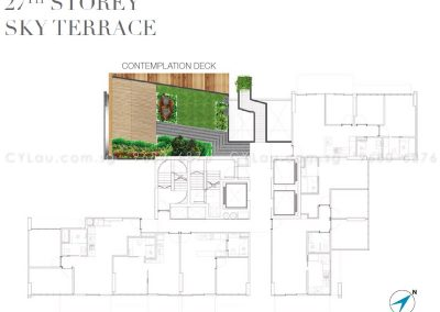 6 derbyshire site plan level 27