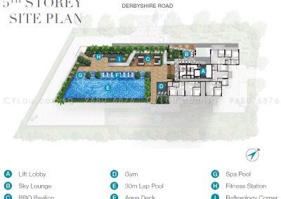 6 derbyshire site plan level 5