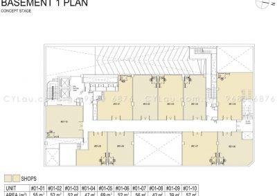 hexacube storey plan basement
