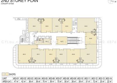 hexacube storey plan level 2