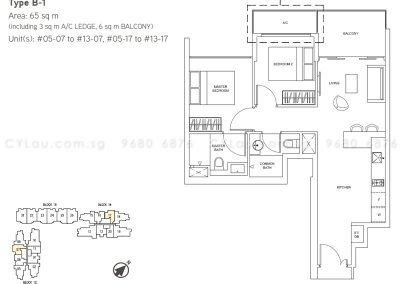 junction nine residences 2-bedroom