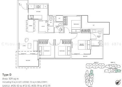 junction nine residences 4-bedroom