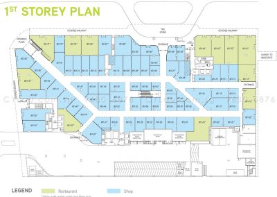 junction nine residences site plan level 1