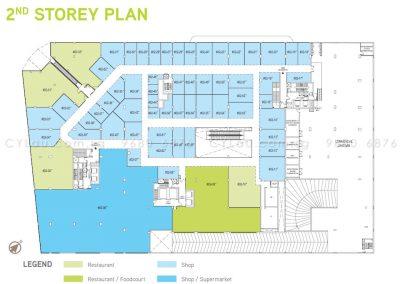 junction nine residences site plan level 2