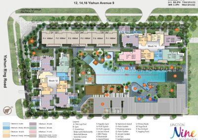 junction nine residences site plan level 4