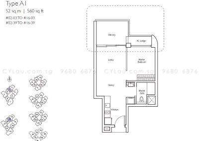 lakeville 1-bedroom a1