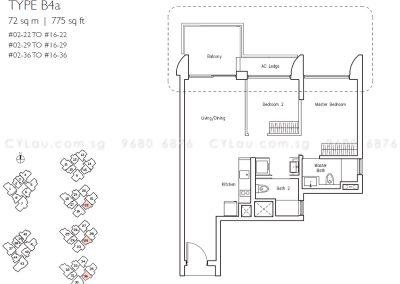 lakeville 2-bedroom b4a