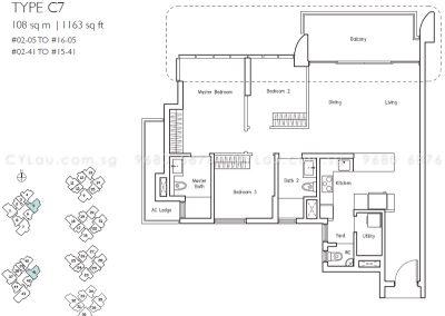 lakeville 3-bedroom c7