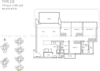 lakeville 4-bedroom d3