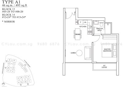 the venue residences 1-bedroom
