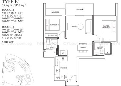 the venue residences 2-bedroom