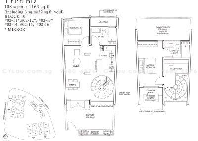 the venue residences 2-bedroom duplex