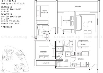 the venue residences 3-bedroom