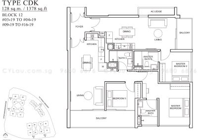 the venue residences 3-bedroom dual-key