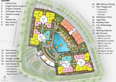 the venue residences site plan level 2
