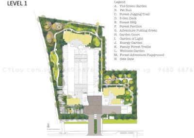 trilive site plan level 1